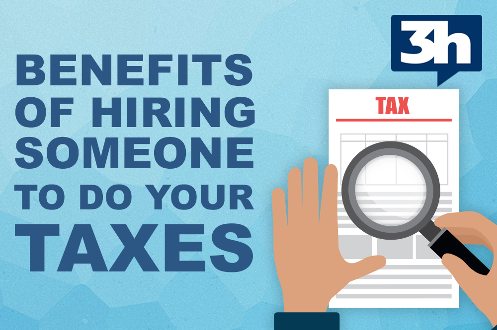 HIring someone to do your taxes